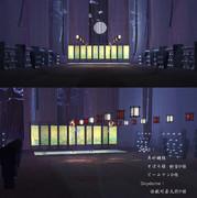 【MMDステージ配布】千里江山图【中華風】