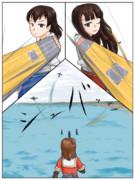 小説22巻目の挿絵5枚目