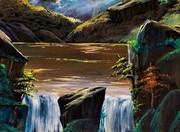 小さな滝7