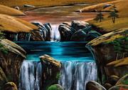 小さな滝8