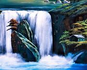 小さな滝9