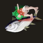 うみまろ姉貴のマグロ漁