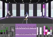 【MMDステージ再配布】ブラインドステージ