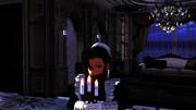 【まめる式ブラクラ静画展】ファビオラさん夜の見回り中