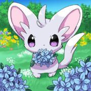お花とチラーミィ