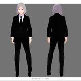 【MMDリゼロ】黒スーツの男【限定配布】