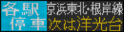 【GIFアニメ】京浜東北根岸線各駅停車大船行