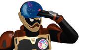 ライドプレイヤーニコの帽子とワッペン配布