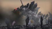 対ゴジラ超重質量ナノメタル製決戦兵器