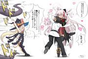 アビゲイルちゃん VS 沖田ちゃん(オルタ)