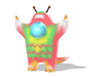 【モデル配布】わち式閃光壊獣マーバ(タヌキ型)