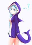 サメパーカーあかり