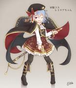 軍服コスのレミリアちゃん