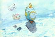 にじをかける結月ゆかりPart3【星のカービィ2】支援絵