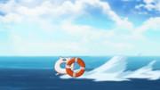 轟沈しかける艦娘を救援に向かう浮輪さん