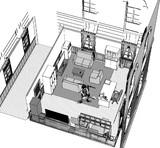 執務室3Dモデル販促