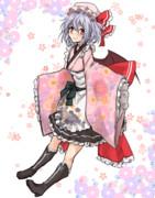 ゴシック風和服 レミリアさま