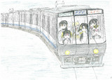 PPP with マーゲイ×223系0番代