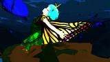 「蛹を破り、蝶は舞う...」