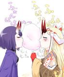 アビィ&茨木 VS わたあめのオマケ