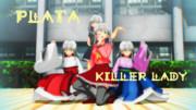 【たけ式モデル】可愛い PLATA 四人【MMDオリキャラ】
