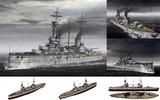MMD用モブ弩級戦艦1914(モブンコート)セット