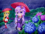 ゆかマキと梅雨
