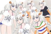 (立ち絵)夏服あかりちゃん