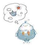 夢を見る小鳥さん