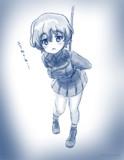 【ガルパン】捕まった小梅ちゃん