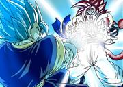 ベジットブルー VS ゴジータ4