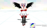 Remilia Scarlet Adult Came Into The Terminal