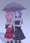 相合傘やちいろ