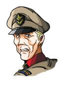 マジで消失する5秒前のグリーン・ワイアット大将