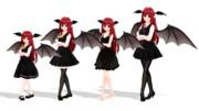 新しい小悪魔モデル