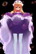 スキマ妖怪の服の下