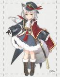 もふもふの軍服ケモ娘