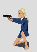 ライラさんと銃