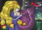 幻想郷に誘うポニテの紫さん