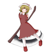 第10回東方ニコ童祭OP動画のエリーちゃんです