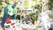 【第10回東方ニコ童祭】博麗神社のあうんちゃんとリリー達【OP動画イラスト】