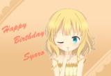 シャロちゃんお誕生日おめでとうございます!