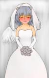純白の白鷺