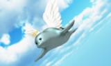 天使の羽が似合う万歳楽