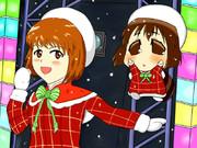 雪歩とゆきぽ(クリスマス衣装)