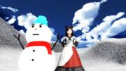 雪だるまを作るのが上手いのは?