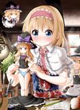 少女人形製作中