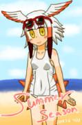 夏だ!海だ!白スクトキさんだ!