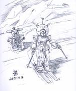 局地戦用MS「ジム寒冷地高機動型」