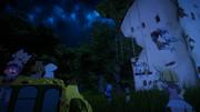 ジャパリ図書館の夜景ver2